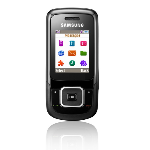 Samsung E1360 phone photo gallery  official photos
