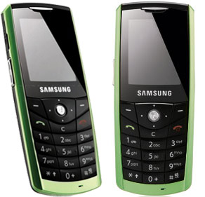 Samsung E200 Eco   another Samsungs eco friendly handset