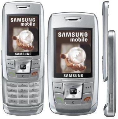 Samsung E390 Silver ATT Wireless   Verizon Wireless Phones  GSM