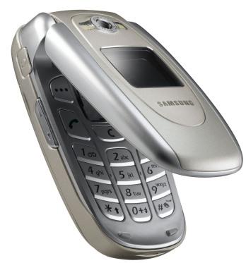 Samsung E620 phone photo gallery  official photos