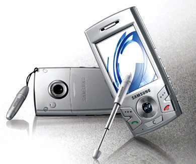 Samsung E890 Touchscreen Phone Hands On   TechEBlog