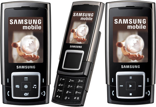 Samsung E950 phone photo gallery  official photos