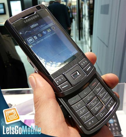 Samsung G810 Symbian smartphone LetsGoMobile