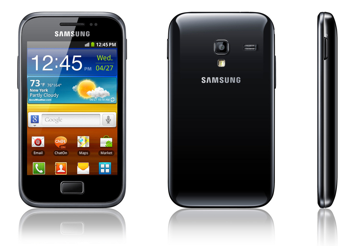 Samsung Galaxy Ace Plus S7500     Complete Mobile Phone Specifications