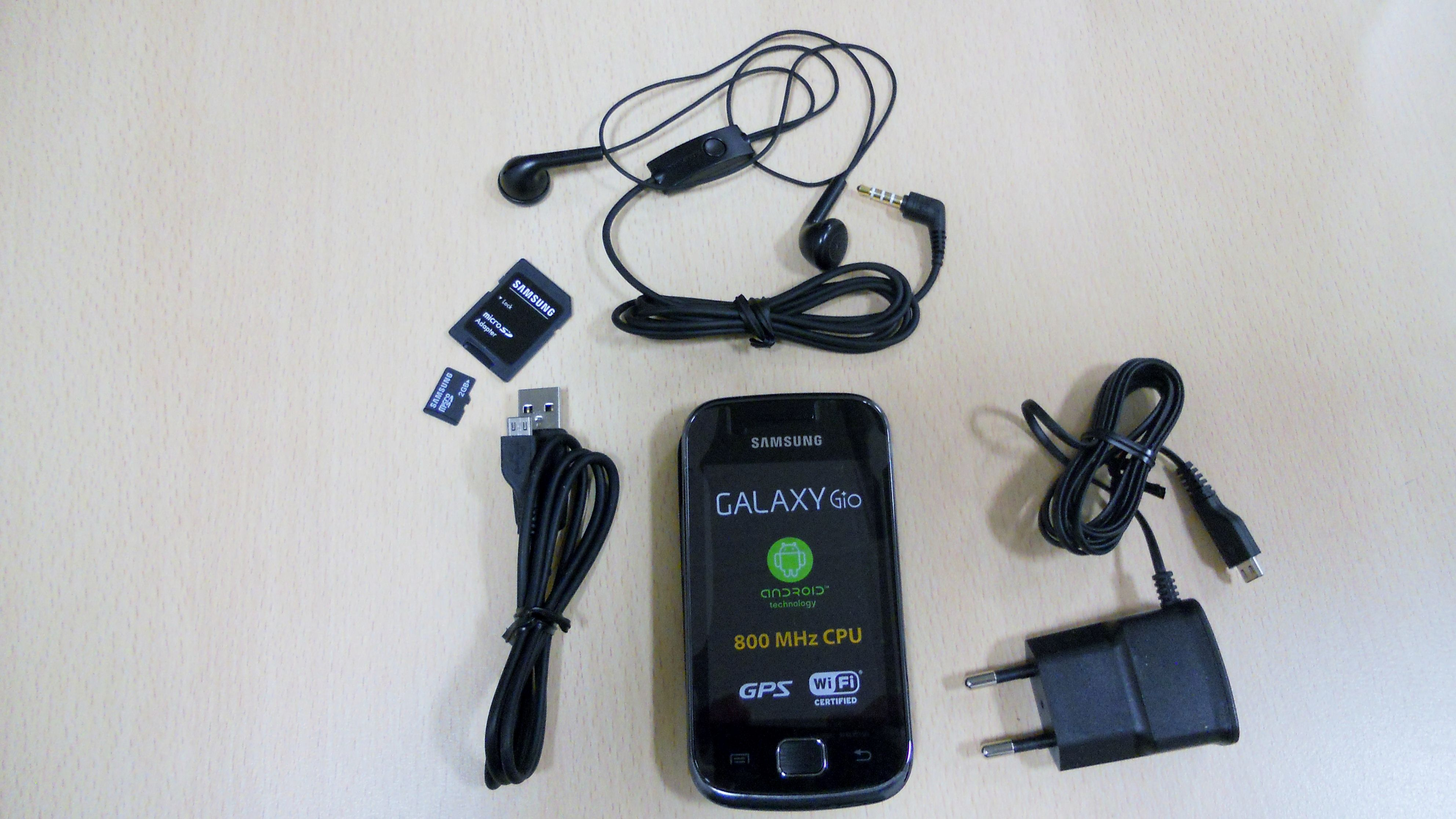 Samsung Galaxy Gio S5660 unboxing photos   WishMesh EE