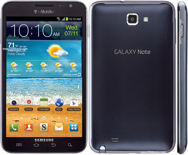 Samsung Galaxy Note T879 pictures  official photos