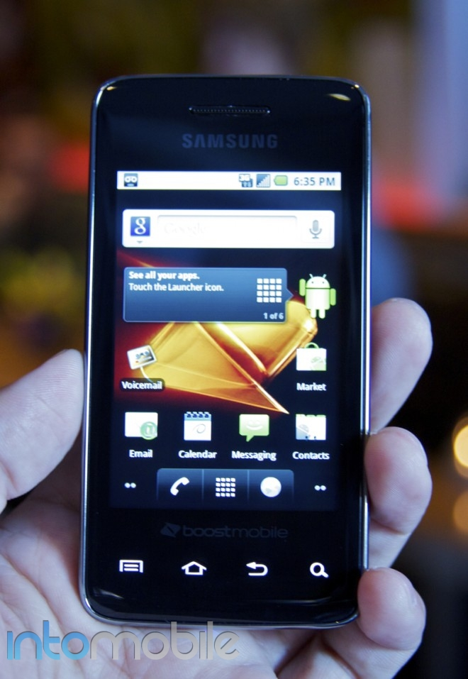 Hands On Samsung Galaxy Prevail for Boost Mobile