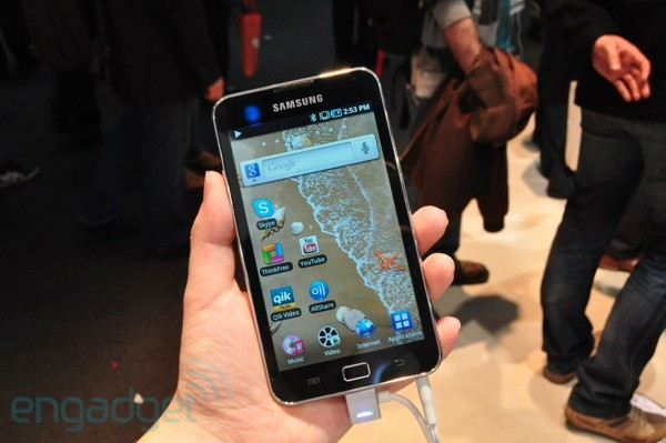 Samsung Galaxy S WiFi 5 0 preview