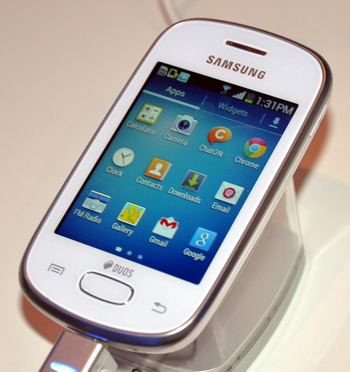 Samsung Galaxy Star S5282 Shines as Most Affordable Fun Series