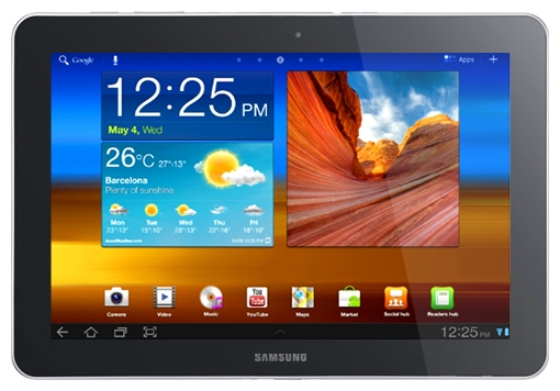 COBY Samsung Galaxy Tab 10 1 P7510 16Gb tablet PC specifications