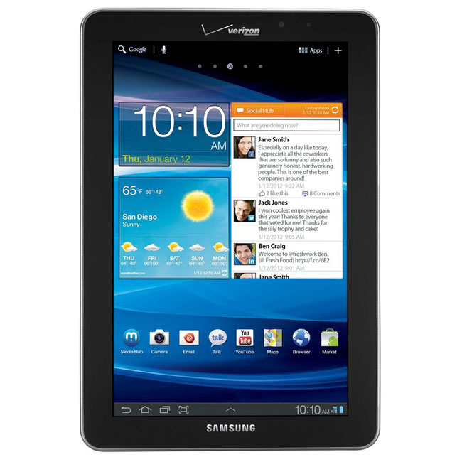 Samsung Galaxy Tab 7 7 LTE I815 phone photo gallery  official photos
