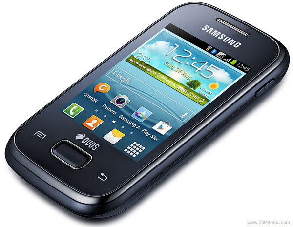 Samsung Galaxy Y Plus S5303 pictures  official photos