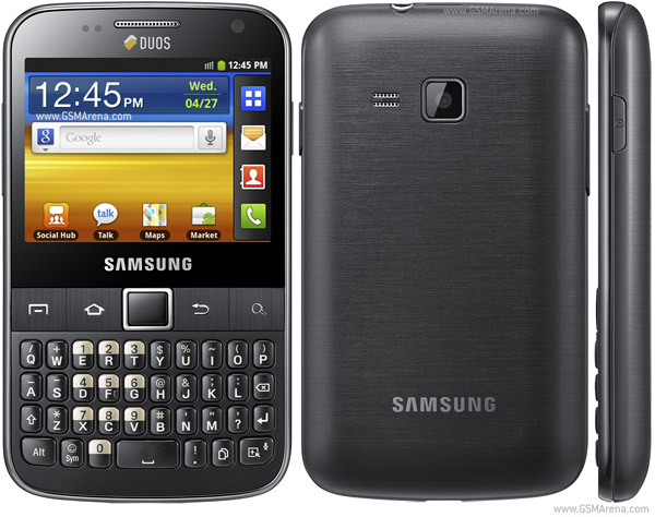 Samsung Galaxy Y Pro Duos B5512 pictures  official photos