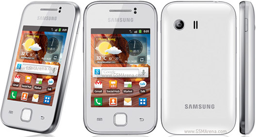 Samsung Galaxy Y S5360 pictures  official photos