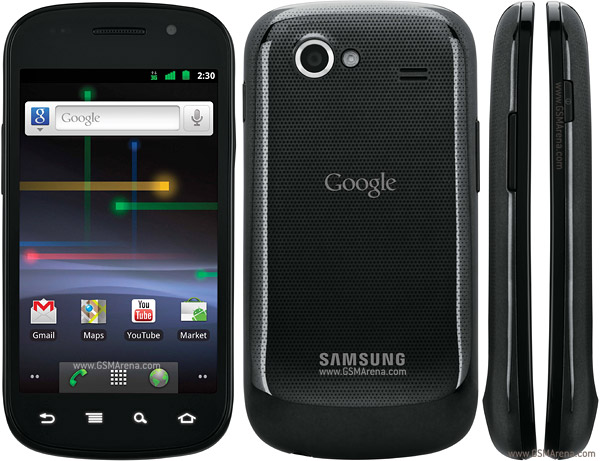 Samsung Google Nexus S pictures  official photos