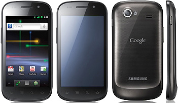 Samsung Google Nexus S I9023 pictures  official photos