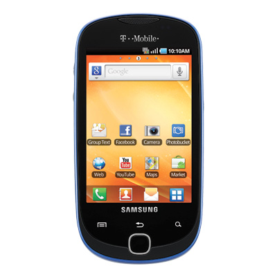 Gravity Smart Android Phone from T Mobile   SMS Message Social