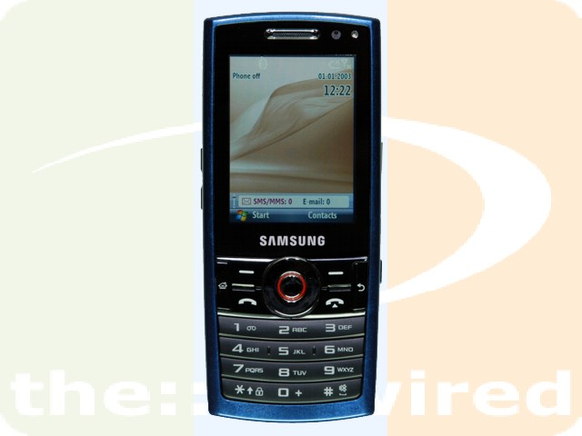 Samsung i200 Windows Mobile 6 smartphone update with main