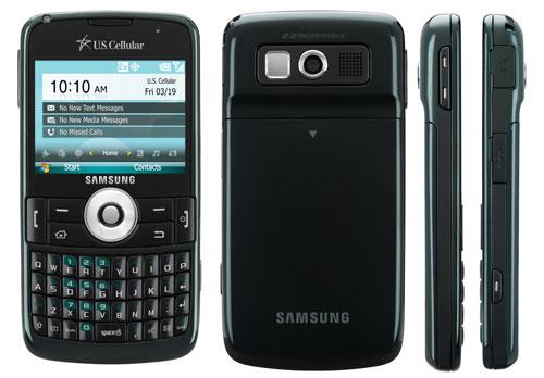 Samsung Exec  SCH i225  WinMo phone comes to U S  Cellular