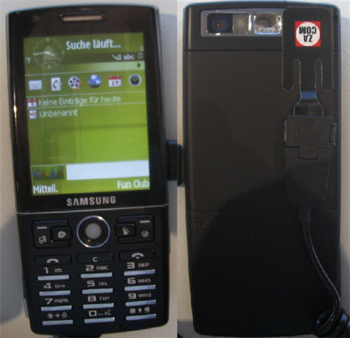IFA 2007 Report  Samsung SGH i550 with GPS navigation and Google
