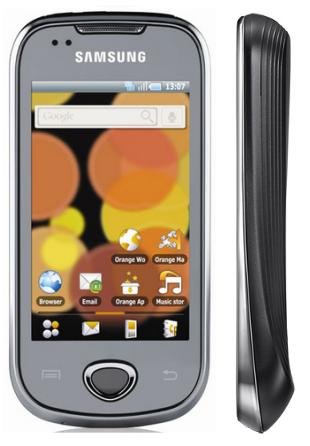 Samsung I5801 Galaxy Apollo phone photo gallery  official photos