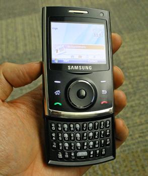 Samsung i620  Curious Qwerty slider   CNET UK