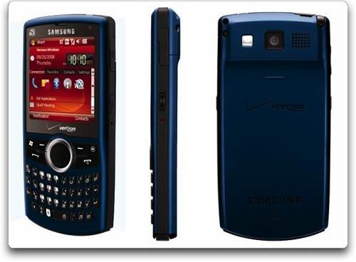 Amazon com  Samsung Saga i770 Phone  Blue  Verizon Wireless   Cell