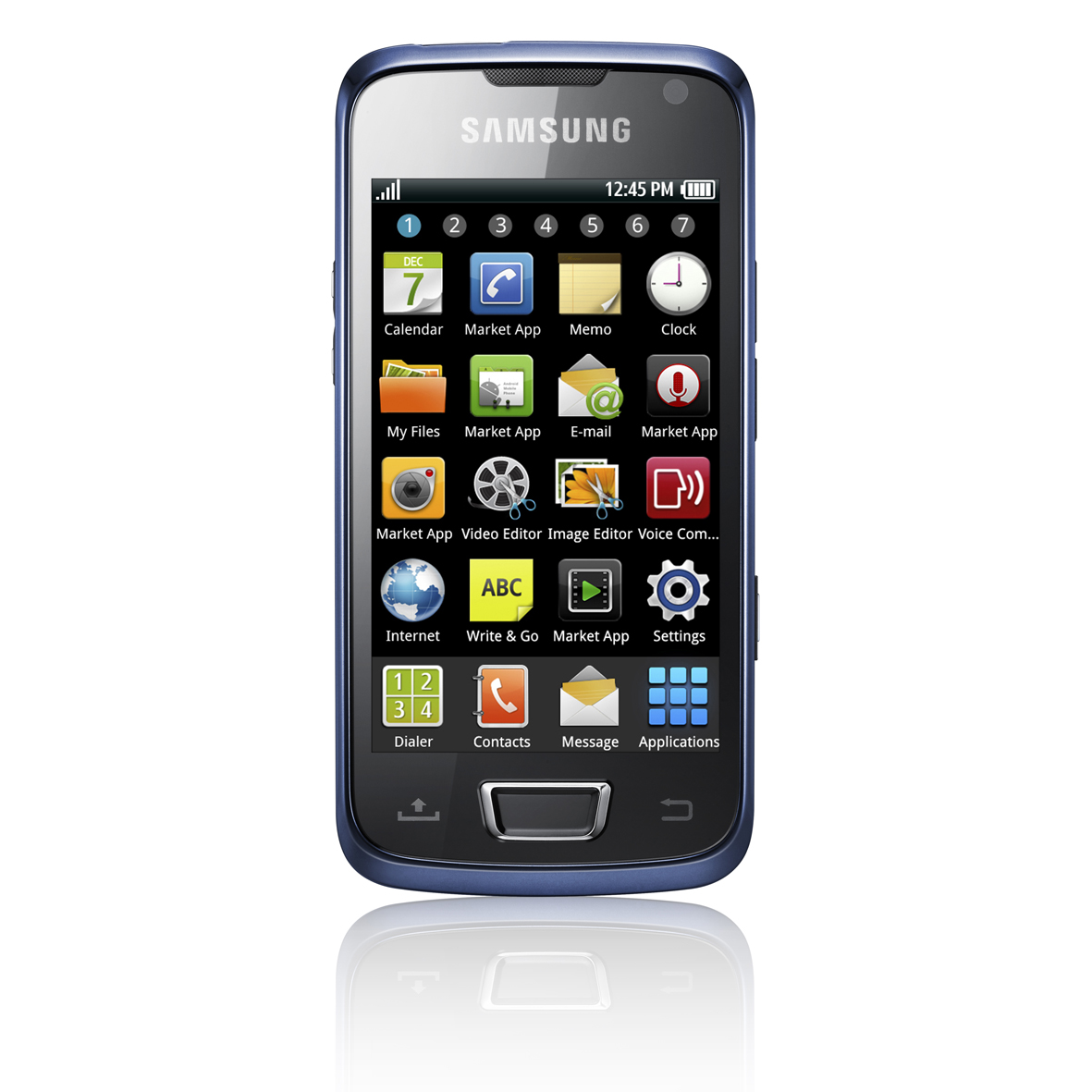 Samsung i8520 Galaxy Beam built in projector Android smartphone