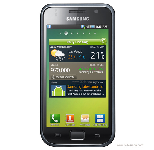Samsung I9001 Galaxy S Plus pictures  official photos