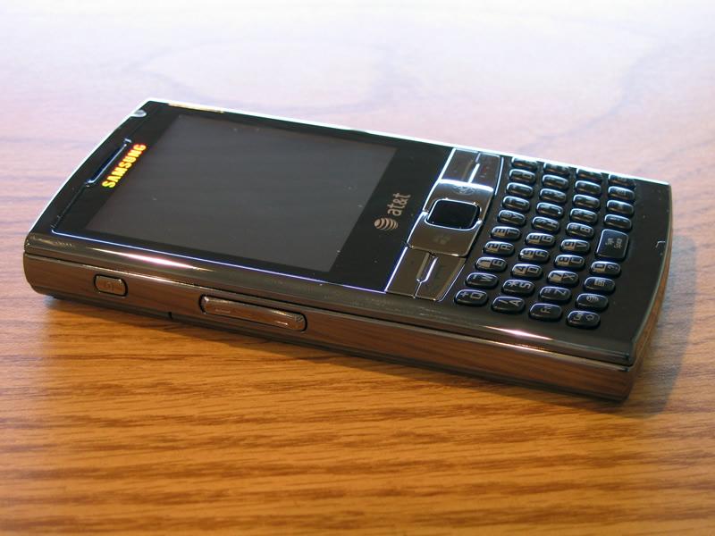 ATT Samsung Epix SGH i907   Pocketnow