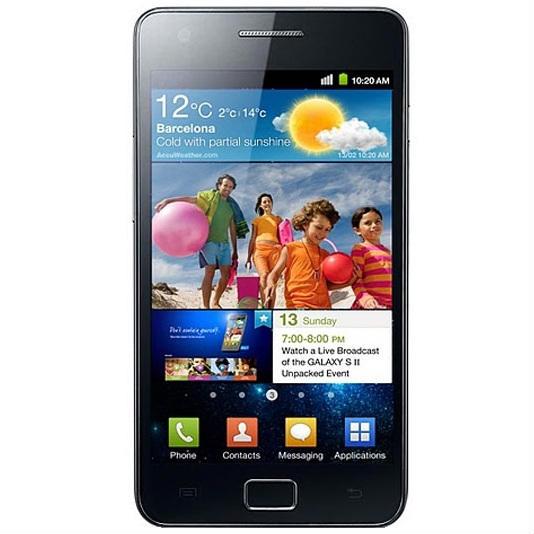 Samsung I9100 Galaxy S II Black