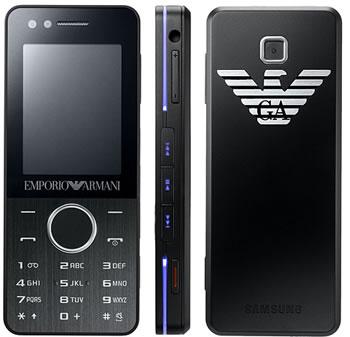 Samsung M7500 Emporio Armani phone photo gallery  official photos