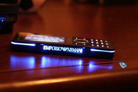 Pictures   Review  Samsung M7500     Emporio Armani Phone   Daily Mobile
