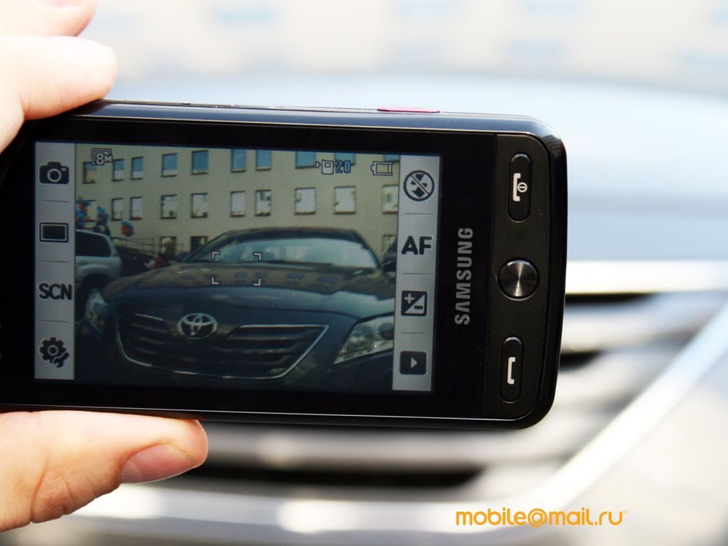 Pictures  Samsung M8800 Pixon   Daily Mobile