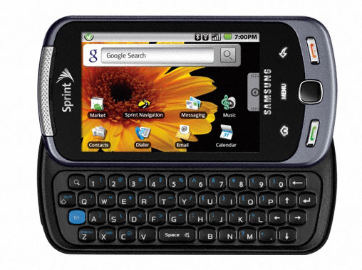Amazon com  Samsung Moment M900 Android Phone  Sprint   Cell