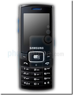 New Samsung P220 Cell Phone
