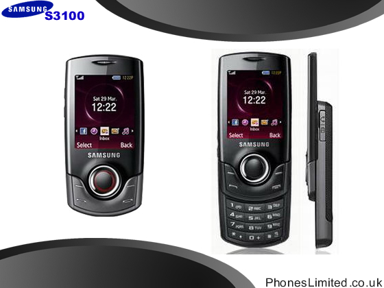 Prepay Samsung S3100 Pay As You Go Deals   Phones Limited