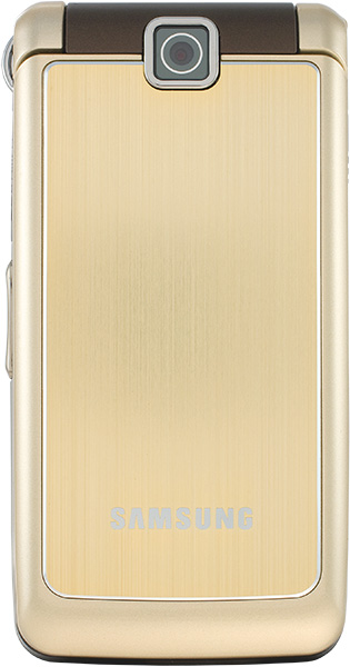 The Samsung S3600 Luxury Gold has quad band GSM EDGE support
