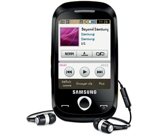 Samsung S3650 Corby touchscreen phone to cost only    200   Unwired View
