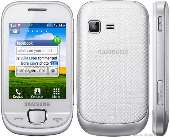 Samsung S3770 pictures  official photos
