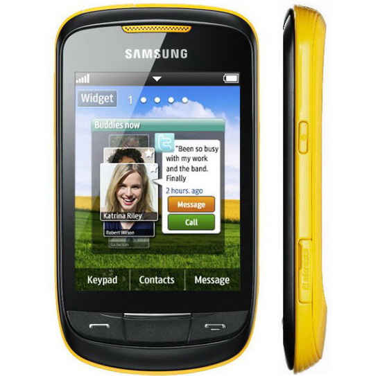 Samsung S3850 Corby II Announced