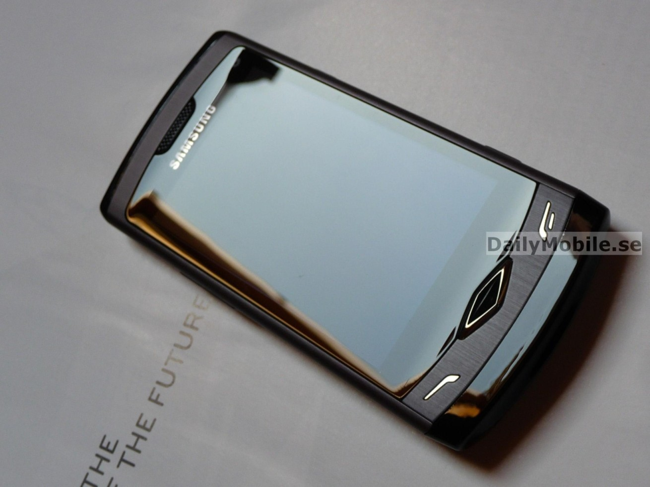Samsung s8500 Wave 01   Daily Mobile