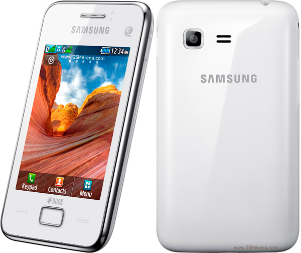 Samsung Star 3 Duos S5222 pictures  official photos