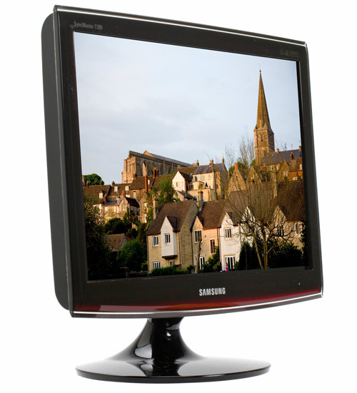 Samsung SyncMaster T200 20in LCD Monitor review   Monitor