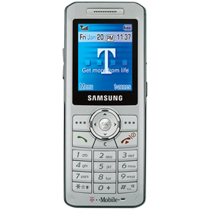 T Mobile Cell Phone   Samsung T509   Wirefly