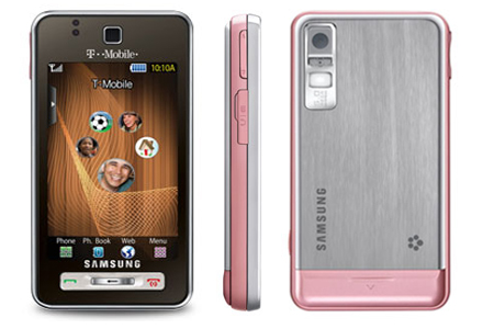 Samsung T919 Behold phone photo gallery  official photos
