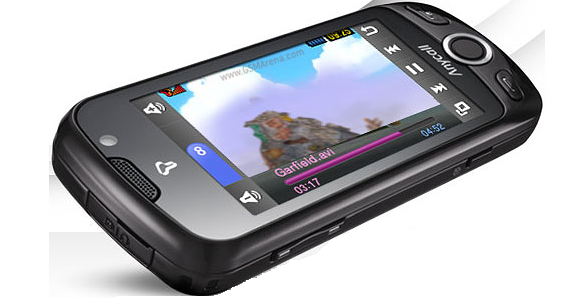 Samsung W960 AMOLED 3D phone photo gallery  official photos