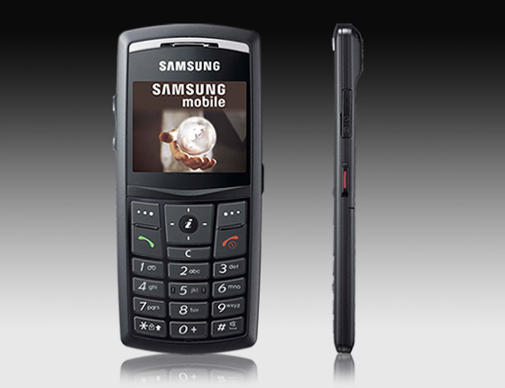 Samsung X820 cellphone     slim   slimmer   slimmest    Unwired View