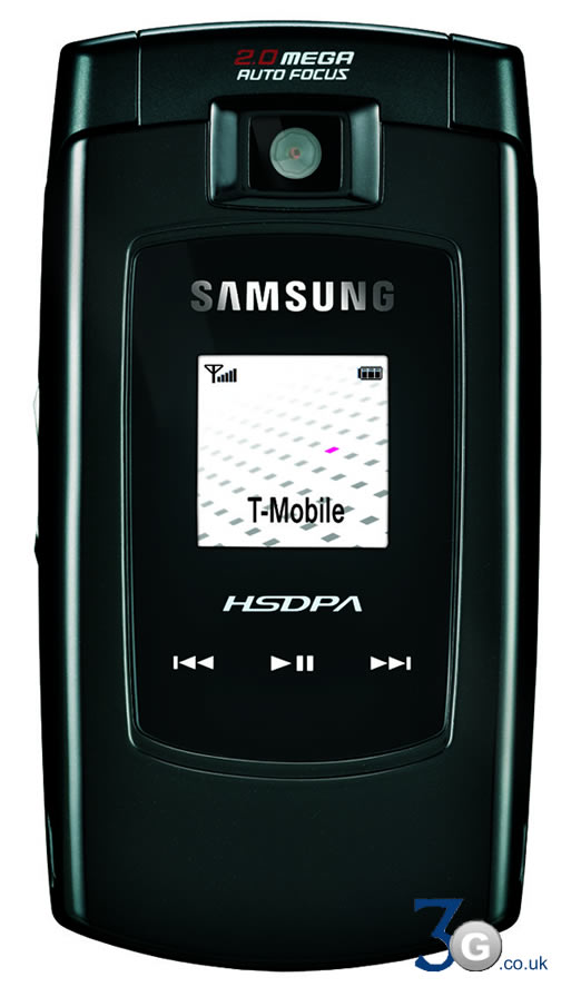 Samsung SGH Z560 3G HSDPA Phone Review
