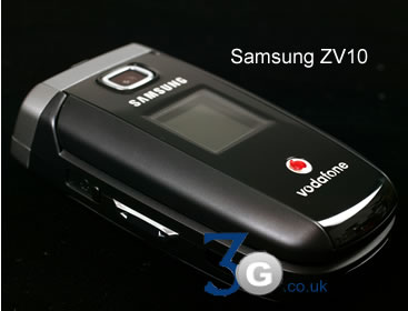 Samsung ZV30 and Samsung ZV10 Vodafone live  3G Mobile Phones